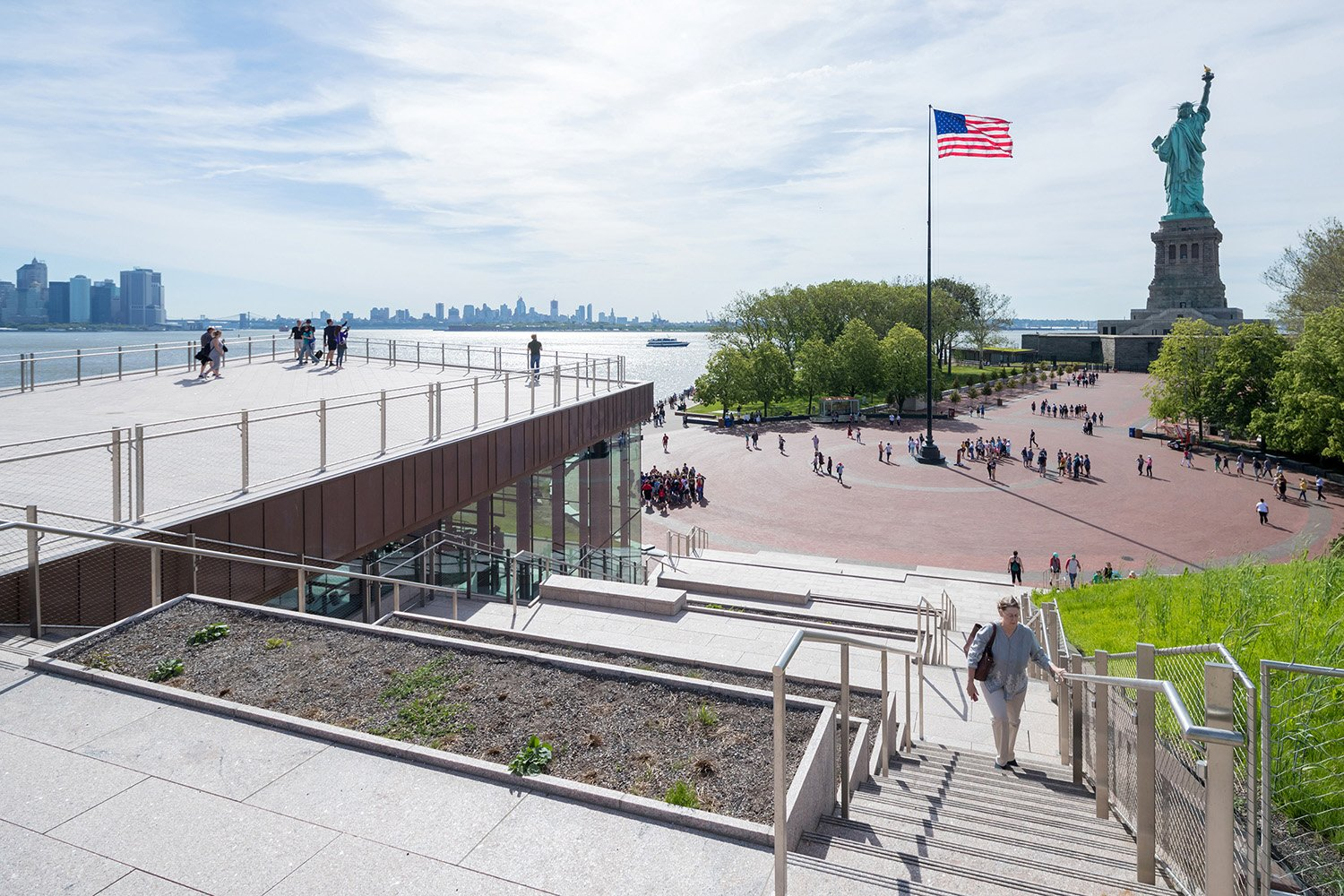 THE STATUE OF LIBERTY MUSEUM