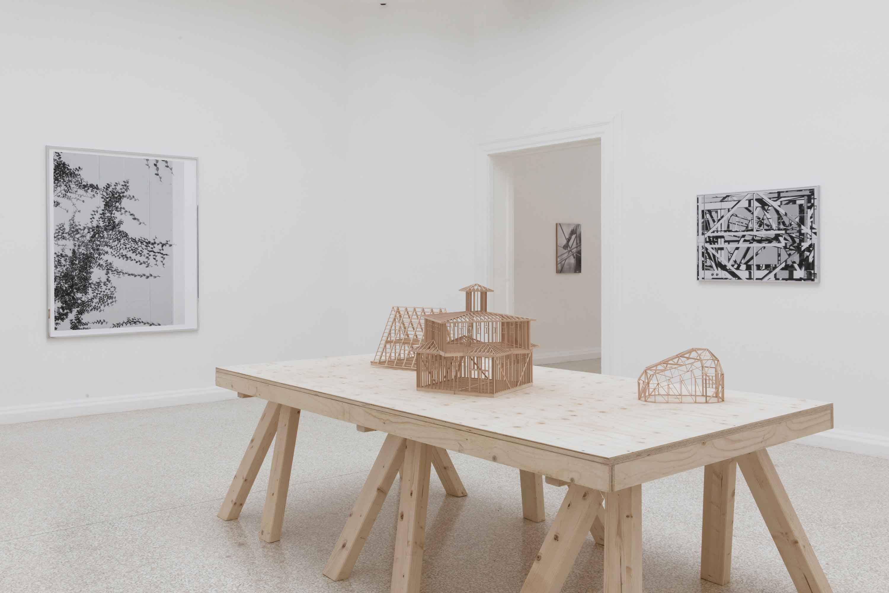 Installation view of AMERICAN FRAMING. Courtesy the Pavilion of the United States at the 17th International Architecture Exhibition at La Biennale di Venezia.