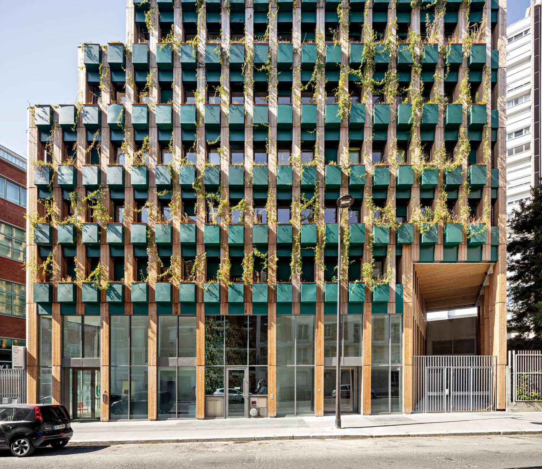 Edison Lite, edificio residenziale, Parigi, Francia, 2020  © Luc Boegly
