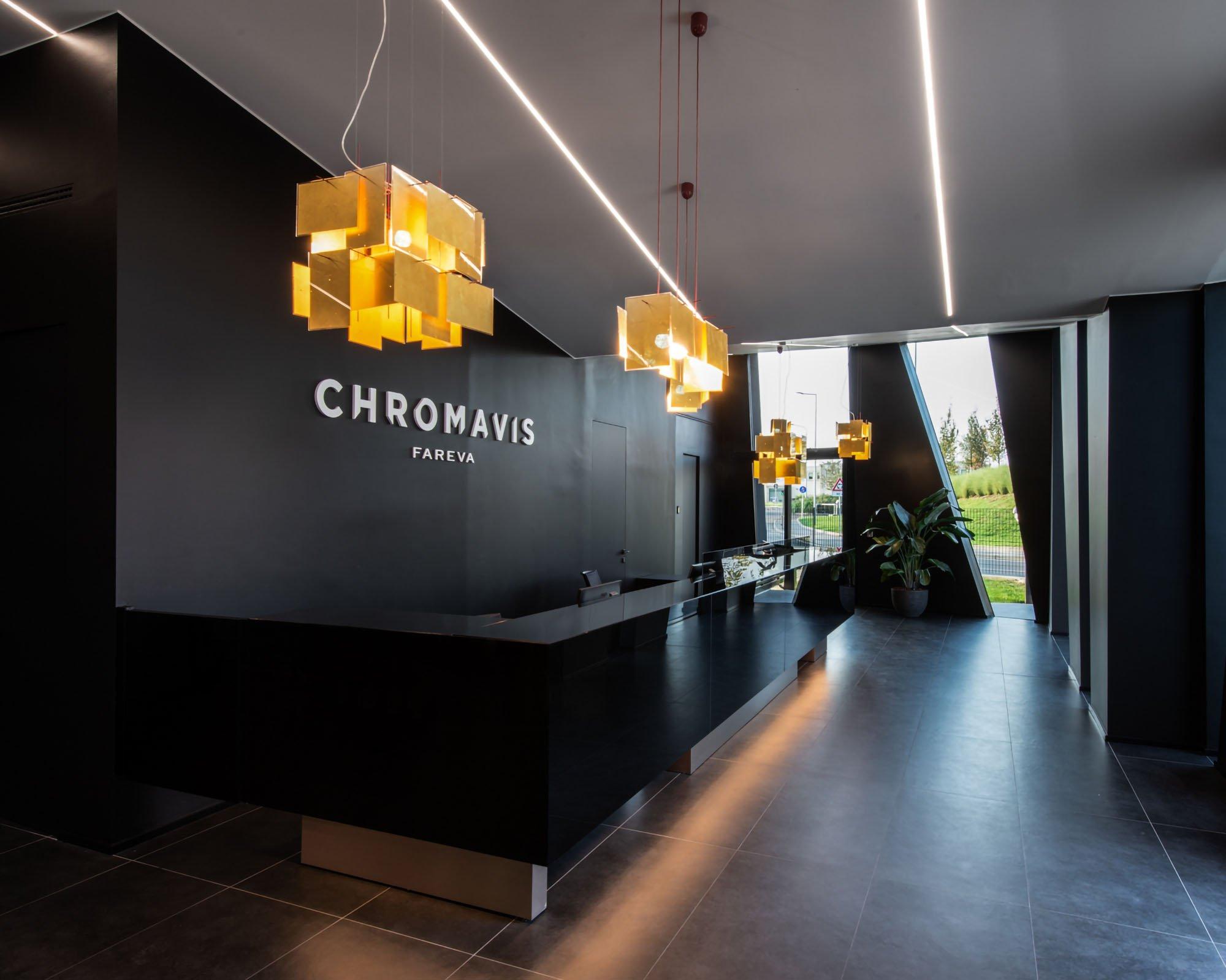 CHROMAVIS NEW HUB  -  ®Albo