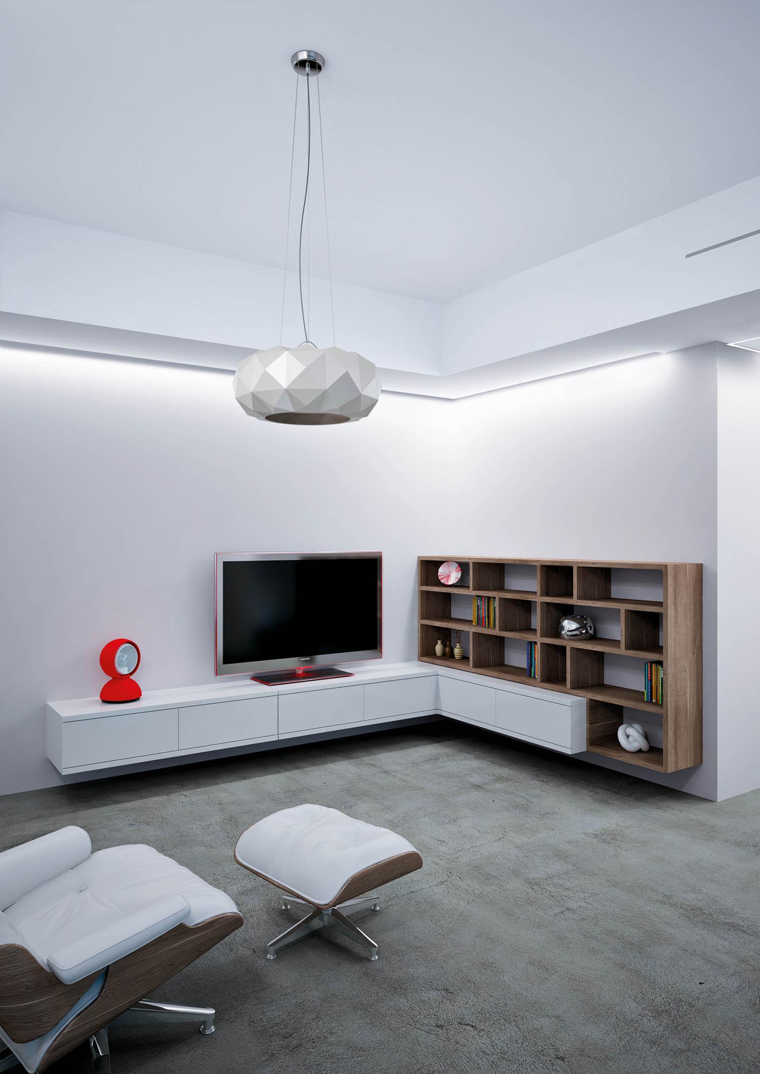 """Terno Scorrevoli, Switch sliding system for """"in-line"""" cabinet doors, courtesy of Terno Scorrevoli"""