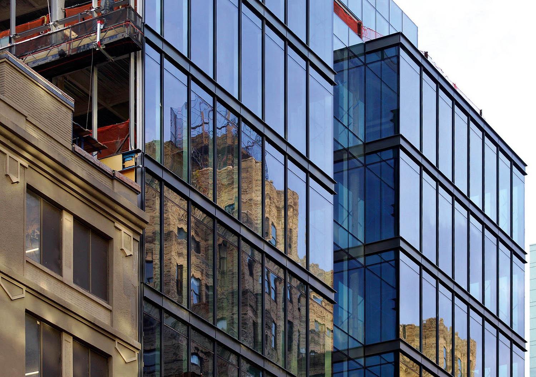 IALC Serramenti, cellular façade for the 60 Charlton Street commercial building, New York City, USA, courtesy of IALC Serramenti