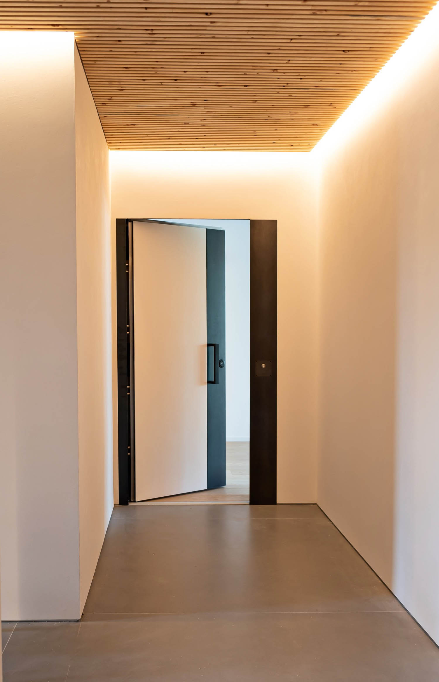 © DueG Studio Fotografico, courtesy of Silvelox In_Wall security doors for access to the apartments