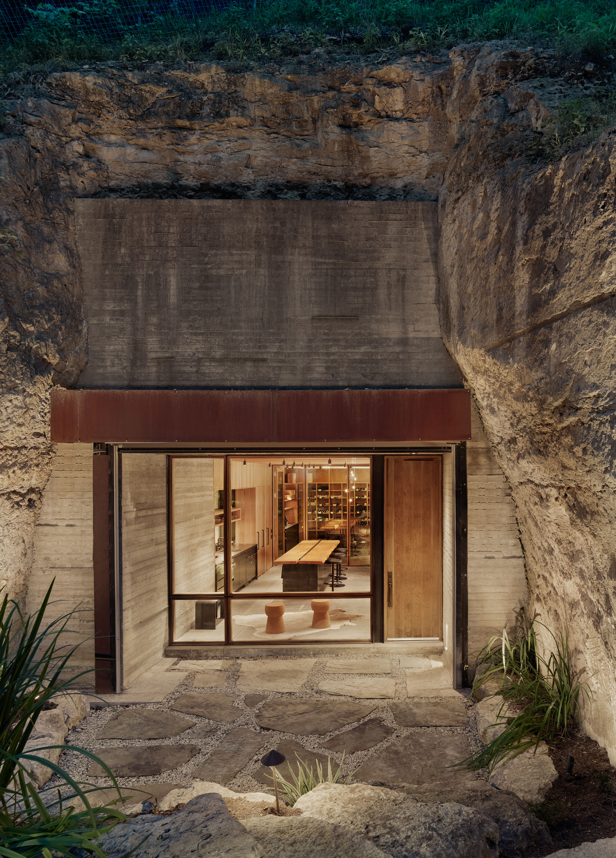 Hill Country Wine Cave - Clayton Korte project team