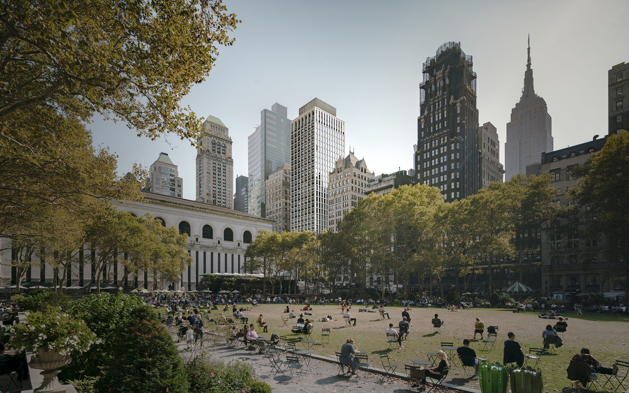 © Simon Menges View from Bryant Park