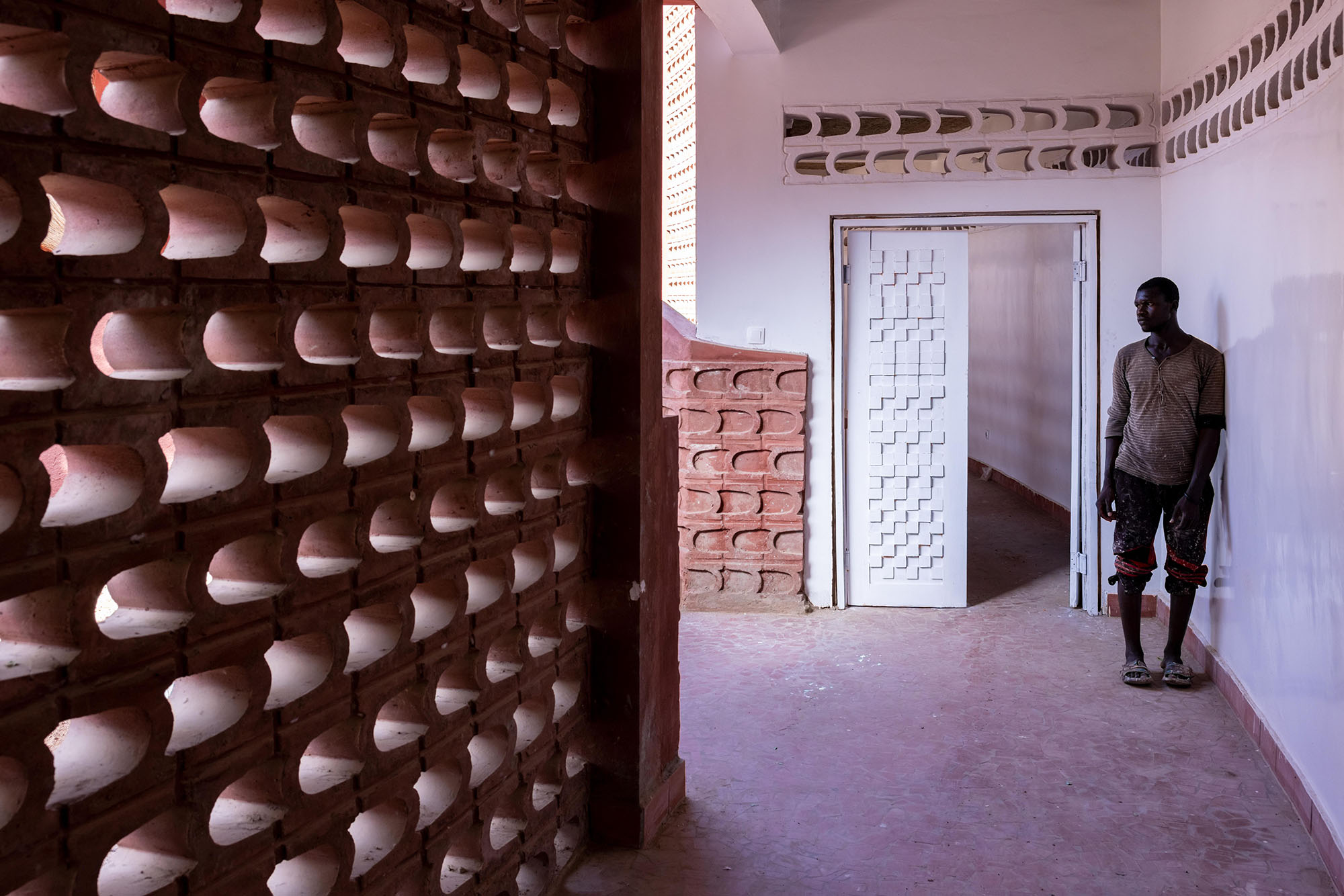 Maternity and Paediatric Hospital in Tambacounda, Senegal, by Manuel Herz Photo: Iwan Baan Courtesy of the Josef and Anni Albers Foundation and Le Korsa