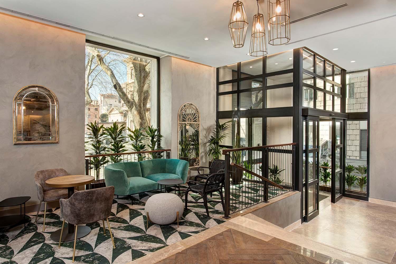 Photo credits: JANOS GRAPOV DoubleTree by Hilton Rome Monti anno 2021