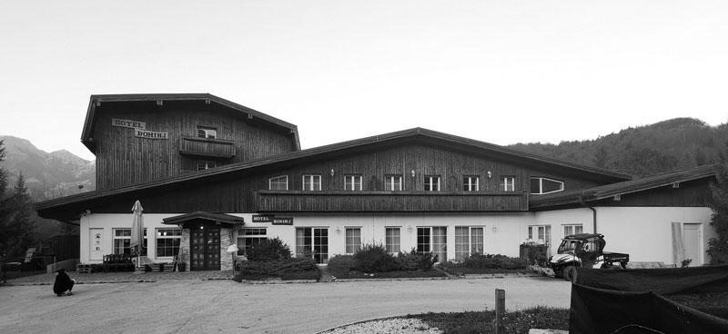 Hotel Bohinj - existing bulding