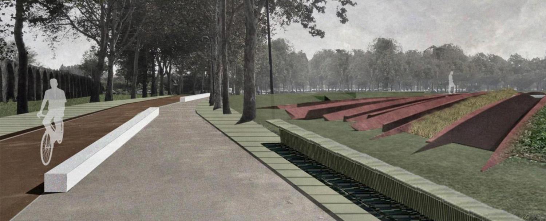 Courtesy of Carmen Andriani Progetto di valorizzazione del Parco delle Mura, Carmen Andriani (capogruppo) e João Nunes (PROAP), Piacenza, 2013