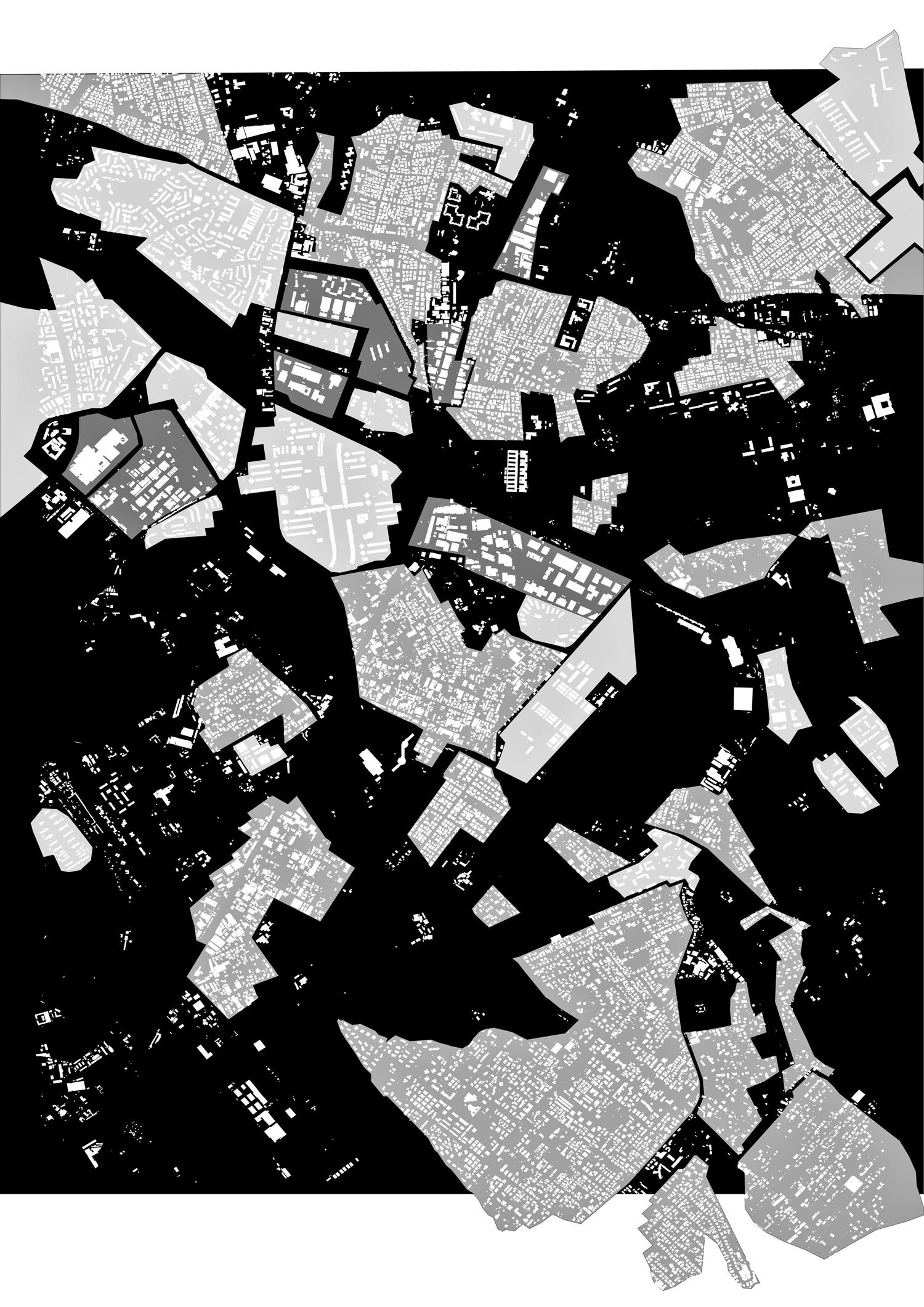 Courtesy of Carmen Andriani Progetto per la Nuova Centralità Urbana Metropolitana a Romanina, Carmen Andriani (capogruppo) con Cristina Bianchetti, Giangiacomo d'Ardia, Aurelio Marchionna, Roma, 2004-2006