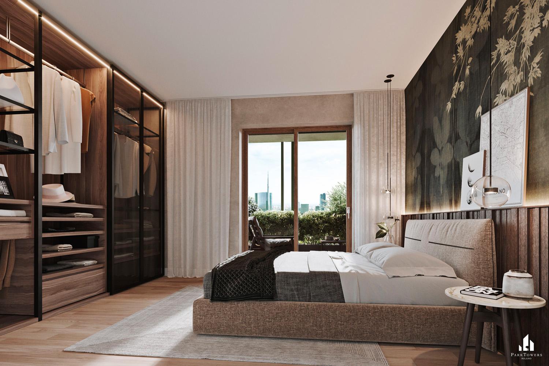 © Echoo Studio, courtesy Asti Architetti e Bluestone Il nuovo complesso residenziale offre in totale  129 appartamenti di diverse metrature, con ambienti ampi e luminosi, dotati di un impianto di ventilazione meccanica controllata e di un sistema di domotica.