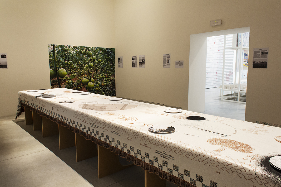 Foundation for Achieving Seamless Territory (FAST) – Watermelons, Sardines, Crabs, Sands, and Sediments: Border Ecologies and the Gaza Strip – Photo by Francesco Galli