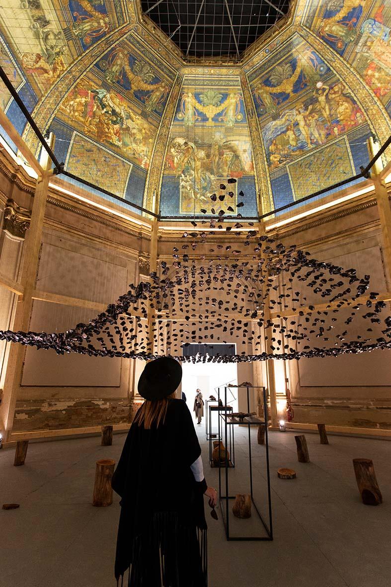 Cave_bureau – The Anthropocene Museum: Exhibit 3.0 Obsidian Rain – Photo by Francesco Galli