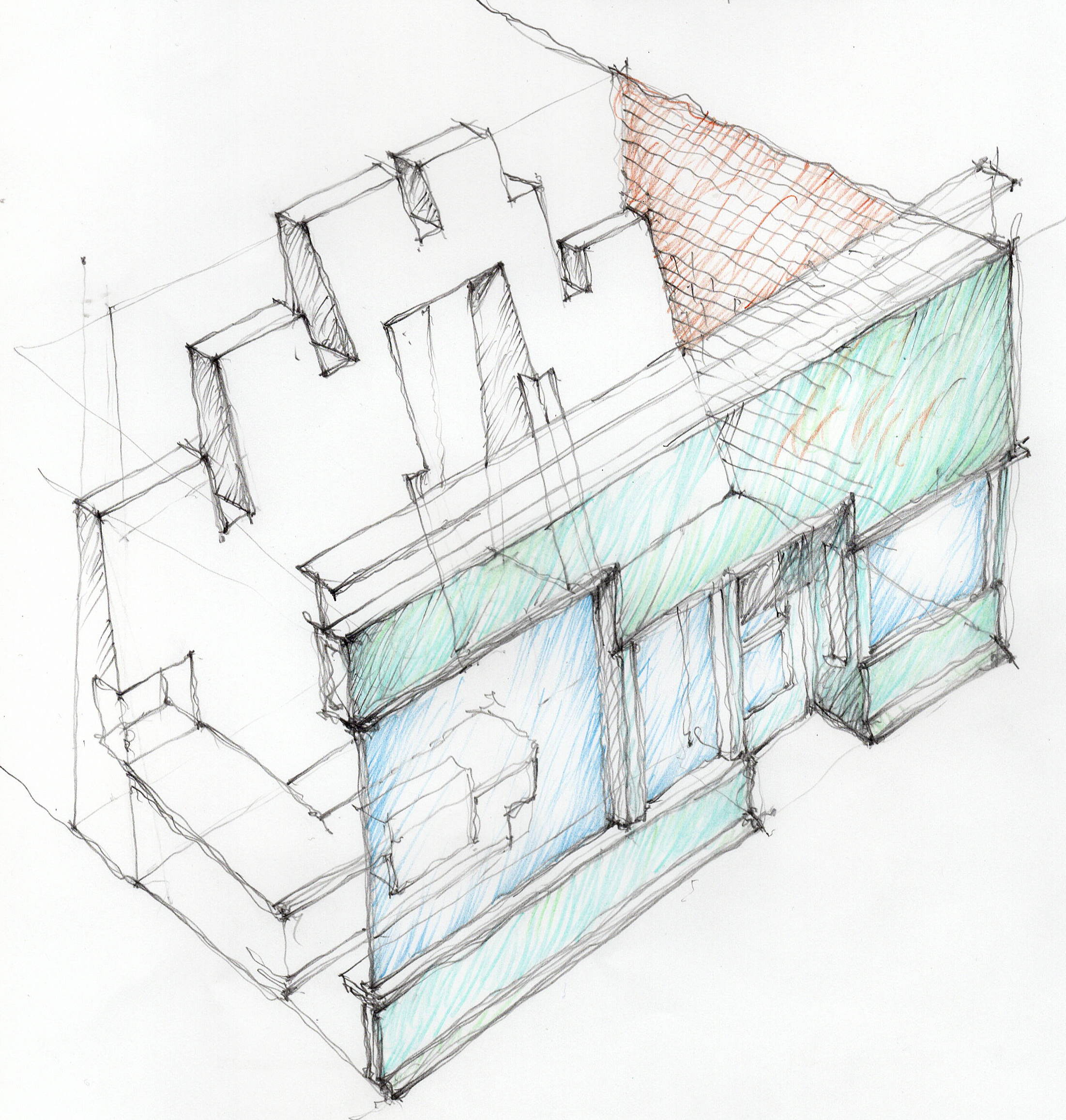 Huascar & Co. Bake Shop - George Ranalli Architect