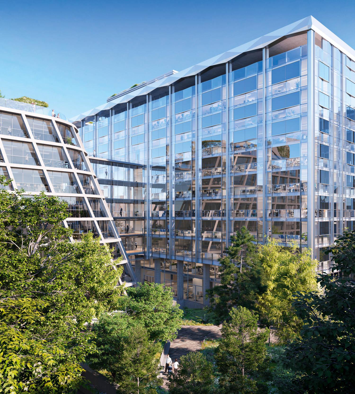 Immagini courtesy Simeon Biome, sede della società SMABTP, YM Architecture, Parigi, Francia © YM Architecture