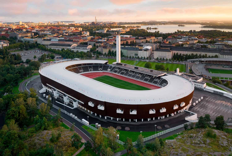 Helsinki Olympic Stadium - photo by Wellu Hämäläinen