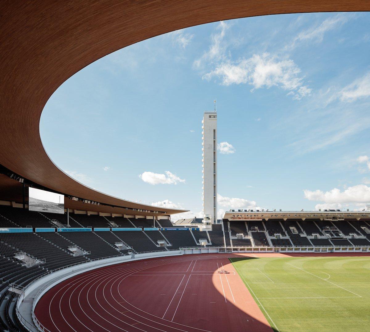Helsinki Olympic Stadium - photo credits: Tuomas Uusheimo / K2S Architects
