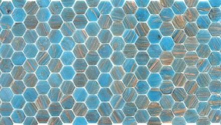 Nuovi mosaici Hexagonal by Trend