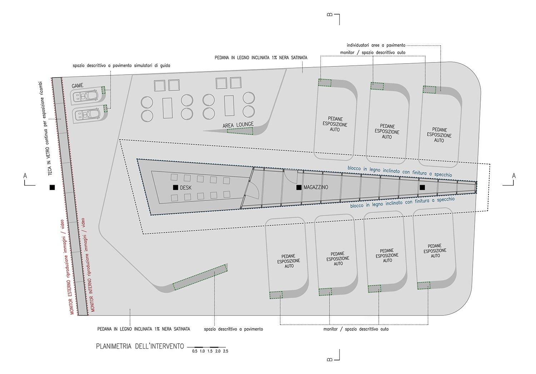 planimetria d'insieme Arch. Salvatore Terranova